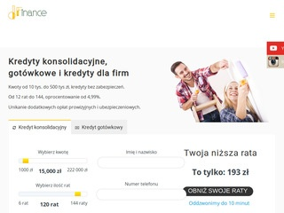 dFinance.pl Kredyty Konsolidaycjne