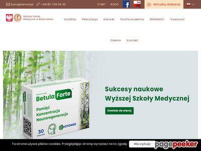 Profesjonalne studia medyczne w Białymstoku - wsmed.edu.pl