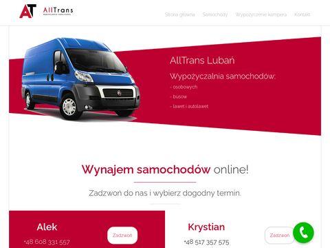 Wynajem dostawczych Zgorzelec, Jelenia Góra, Lubań