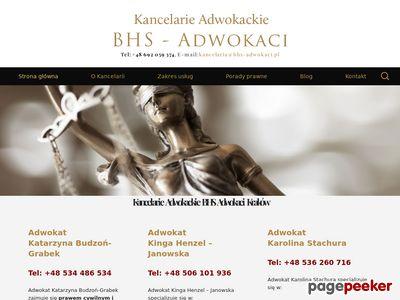 Adwokat w Krakowie - BHS Adwokaci
