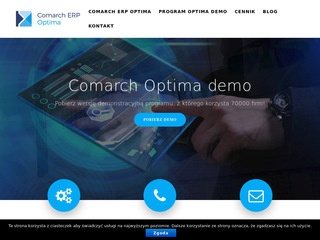 Comarch Optima demo