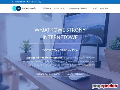 Inter-Web.pl Projektowanie stron WWW Otwock