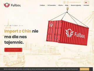 Transport z Chin do Polski ​| Fullbax