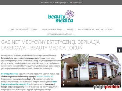 Depilacja Toruń Beauty Medica