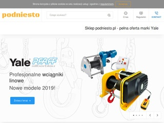 Wciągarki łańcuchowe elektryczne Yale - podniesto.pl
