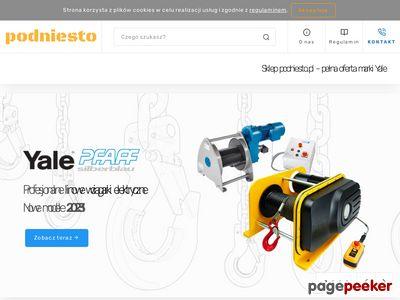Wciągarki łańcuchowe elektryczne Yale - podniesto.pl