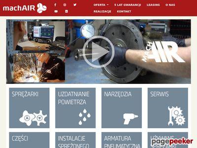 Aerotec - producent kompresorów tłokowych i śrubowych