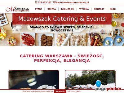Organizacja imprez firmowych, katering Kraków