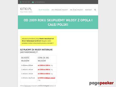 Skup włosów - http://www.kitki.pl