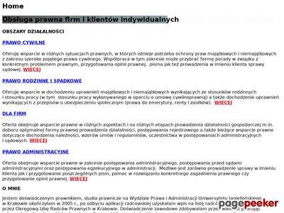 Komornik Sądowy dla Krakowa Marcin Godyń