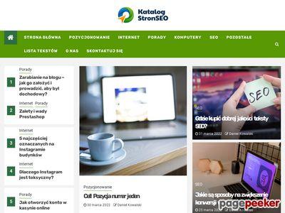Ogolnopolskie zestawienie stron