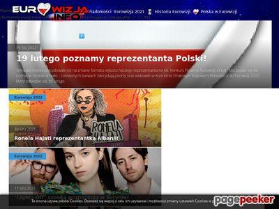 Portal miłośników konkursu eurowizja
