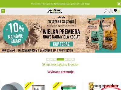 Internetowy sklep zwierzaka - karma Royal Canin - Białystok