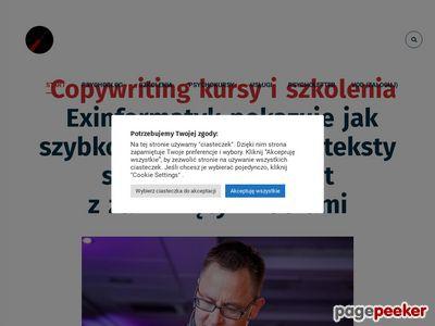 Blog internetowy gniotka