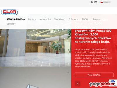 Usługi porządkowe i ochrona mienia ClarSystem.pl