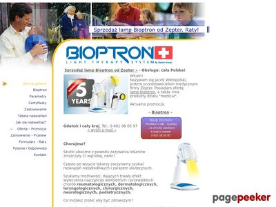 Lampy Bioptron od Zepter