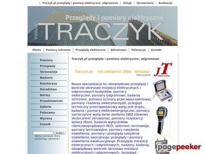 Traczyk.pl - Instalacje, elektryczne, pomiary, kontrola okresowa, przeglady