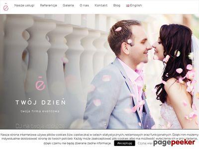 Ślubna giełda - baza firm ślubnych, organizacja wesel, sale weselne, fotografia ślubna