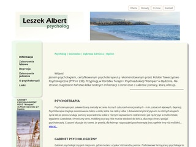 Gabinet psychoterapii - Arkadiusz Lewy
