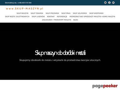 Skup-maszyn.pl - obrabiarek używanych
