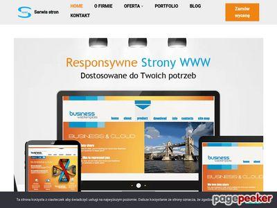 Tworzenie, projektowanie stron, serwisów www