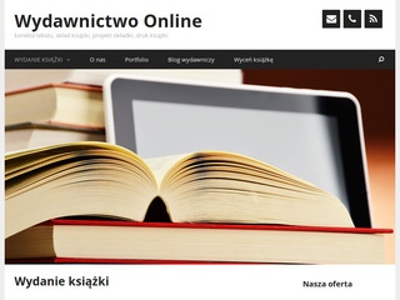 Wydawnictwo Online - wydanie książki, wydanie e-booka