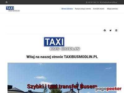 Taxi lotnisko modlin - taxibusmodlin.pl