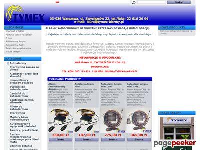 Sprzedaż, montaż i serwis - systemy alarmowe