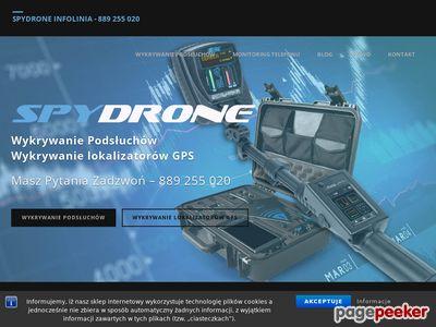 Podsłuch telefonu Spydrone 24
