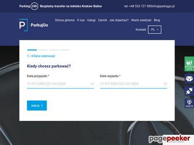 Parking lotnisko Kraków balice