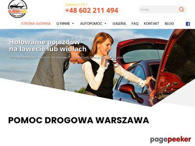 Autoholowanie Graczkowski Warszawa
