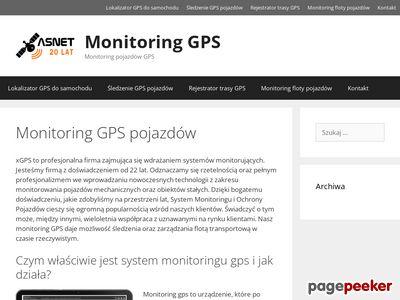 Nadajnik GPS do samochodu-xgps.pl
