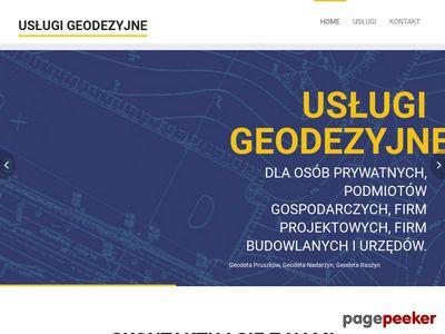 Geodeta - geodezja - usługi geodezyjne - geopruszkow