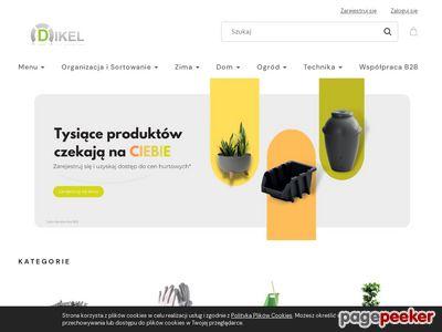 Sklep Dikel - skrzynki narzędziowe, szufladki, pojemniki magazynowe