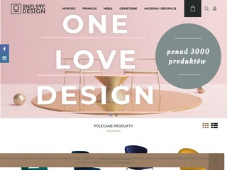 ONE LOVE DESIGN - MEBLE