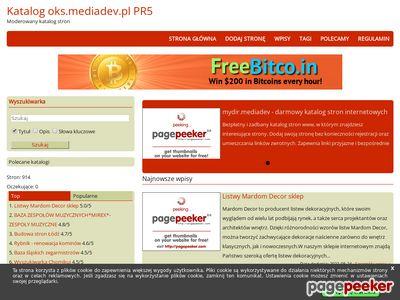 Katalog Stron Internetowych PR-media