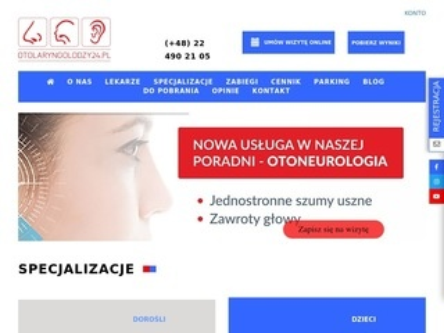 Otolaryngolodzy24.pl