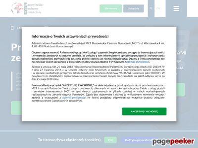 Tłumacz techniczny języka wloskiego - katowice