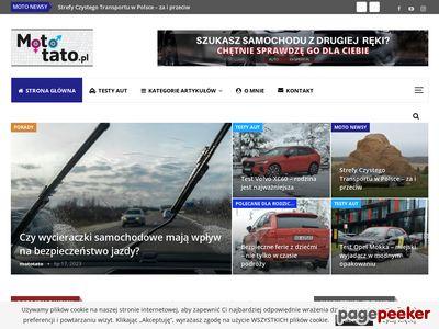 mototato.pl - blog motoryzacyjny, testy aut rodzinnych, porady
