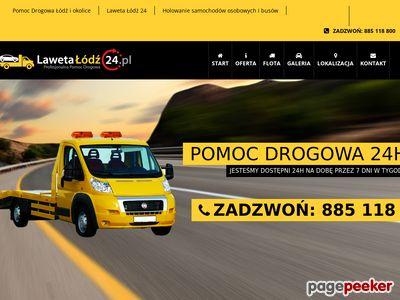 Laweta Szczecin - pomocdrogowaszczecin24h.pl