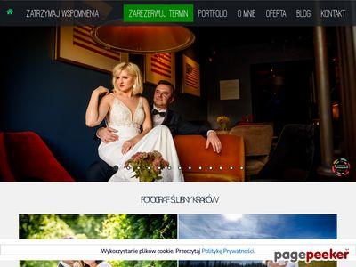 Fotografia ślubna Kraków Bartłomiej Zegadło